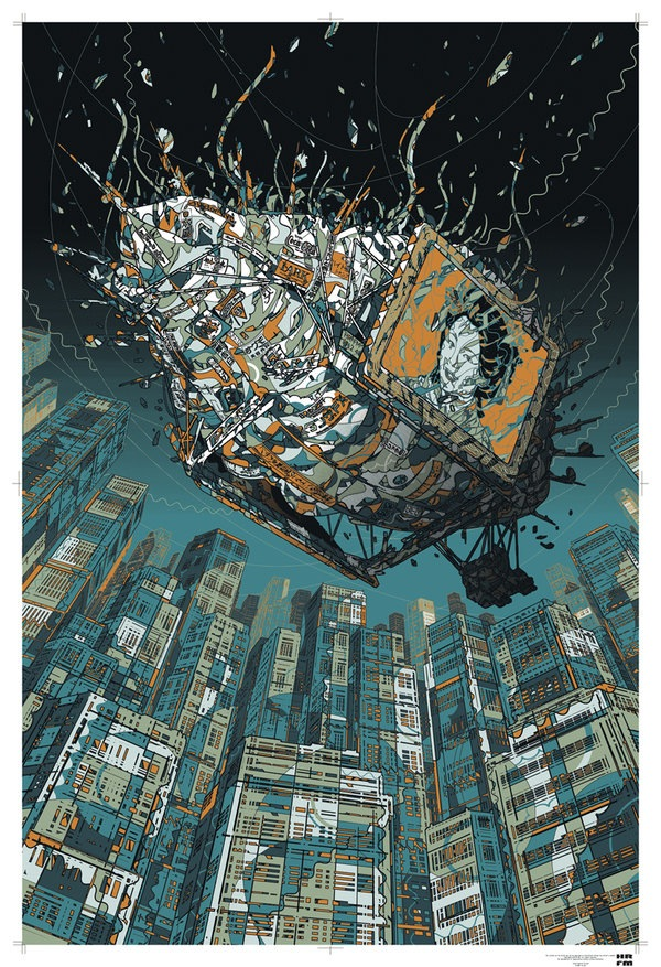 Nave anuncio de Blade Runner - HR-FM