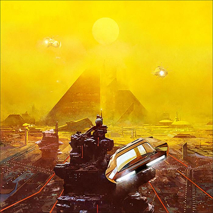 Paisaje futurista de Dan McPharlin