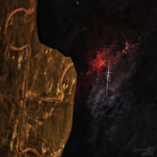 Detalle del corazón de nebulosa
