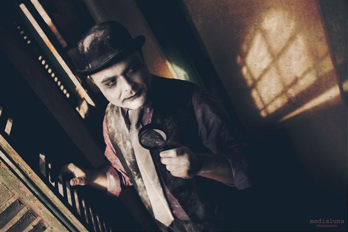 Foto de Isaac Cabezas, guitarrista de Mondo Diávolo, para inpirar un relato sobre la humanidad