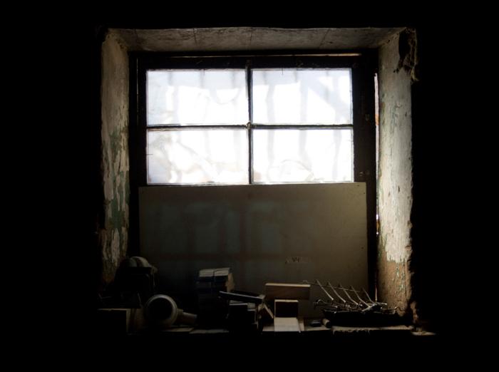 La ventana. Imagen de Cristian Campos para ilustrar un relato especial de Halloween