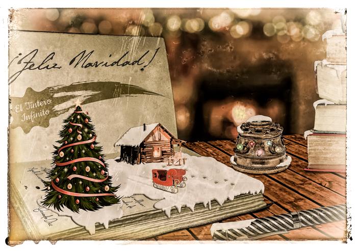 Felicitación de El tintero infinito para las navidades de 2016