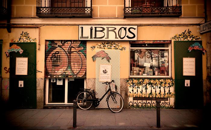 Escaparate de una librería